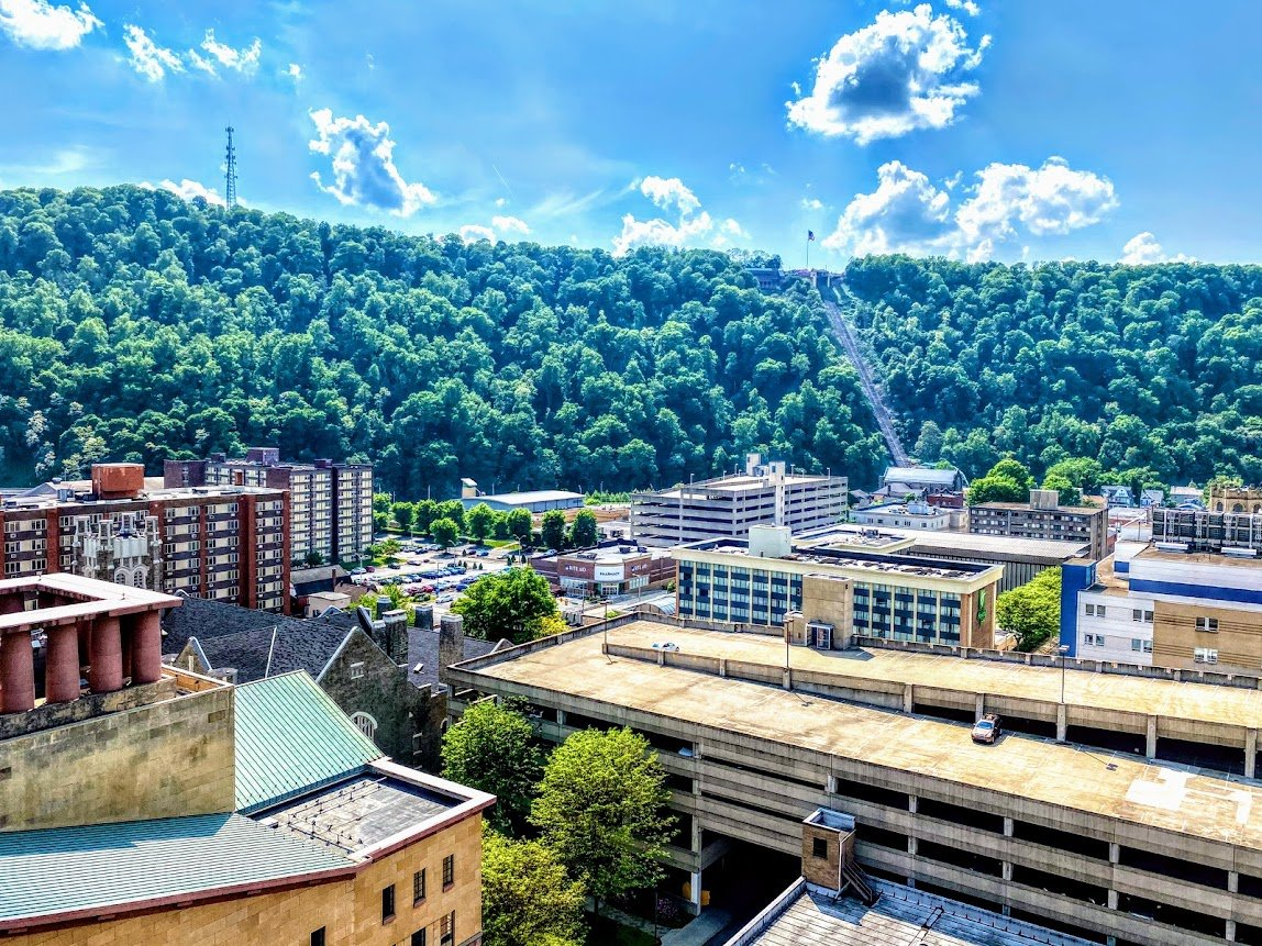 Downtown Johnstown and the Inclined Plane